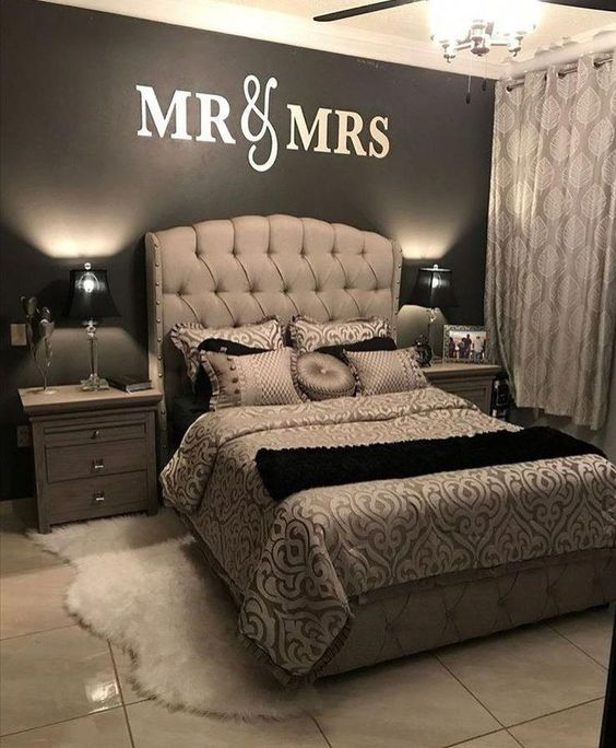 Pin By Sedra Mylove On Ms Bedroom Decor For Couples Small Master Bedroom Master Bedroom Furniture