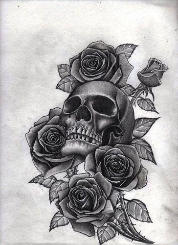 18 Plantillas de rosas para tatuar