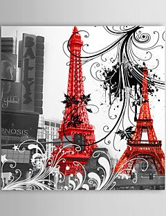 Stretched Canvas Art Architecture Paris Eiffel Tower – CAD $ 33.74