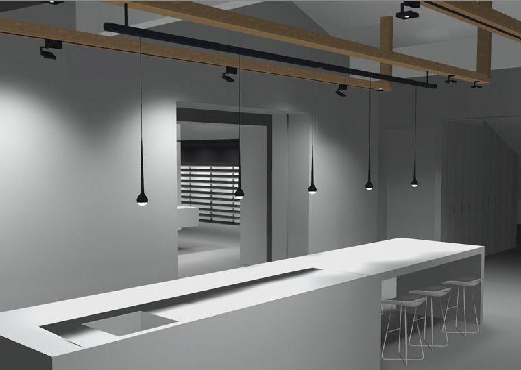 TobiasGrau.com | HOME | SUSPENSION LAMPS | FALLING | Kitchen | Pinterest