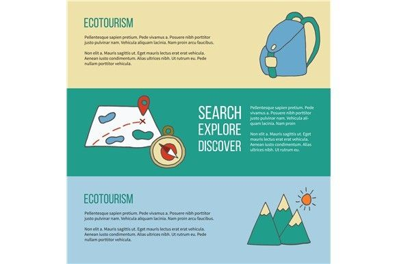 Ecotourism Flyer Poster Vector With Images Flyer Poster