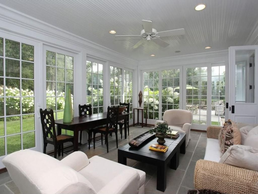 3 season porch window ideas  sun room  for the home  pinterest  modern traditional french