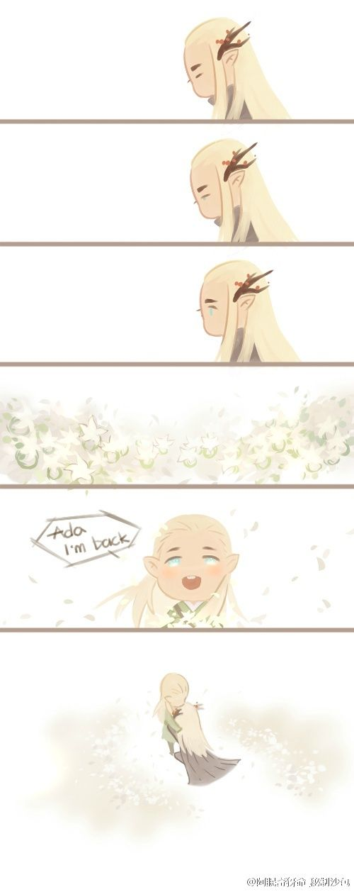 Legolas come back home