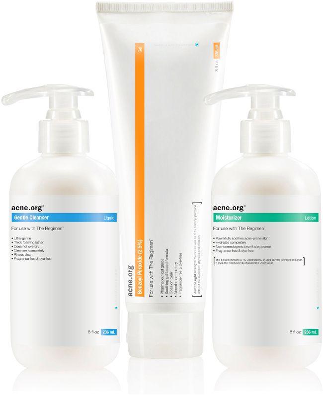The Acne Org Regimen In 2020 Benzoyl Peroxide Acne Treatment Treatment Kit Back Acne Treatment