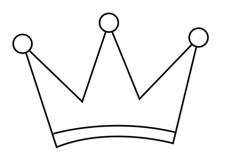 Moldes De Coronas Para Colorear Imagui Moldes Felt Crown