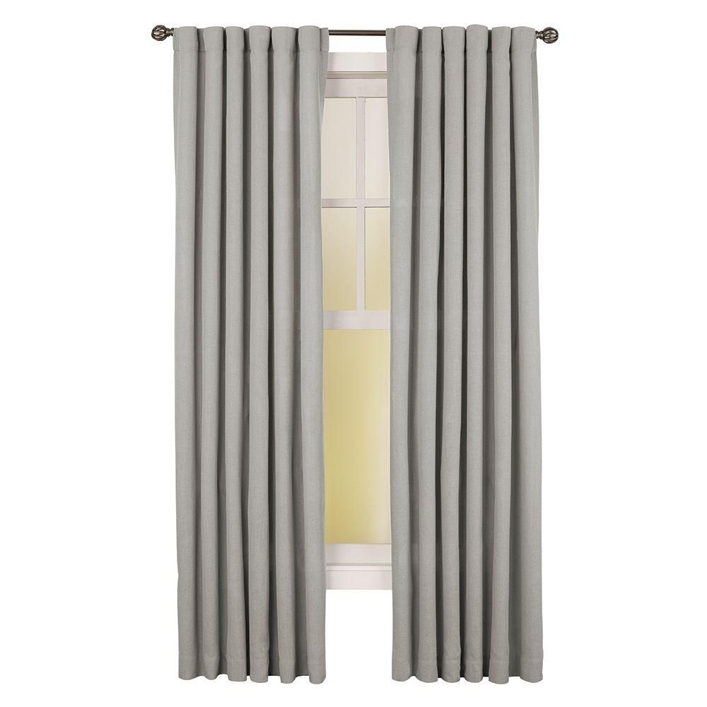 Home Decorators Collection Faux Linen Light Filtering Window Panel