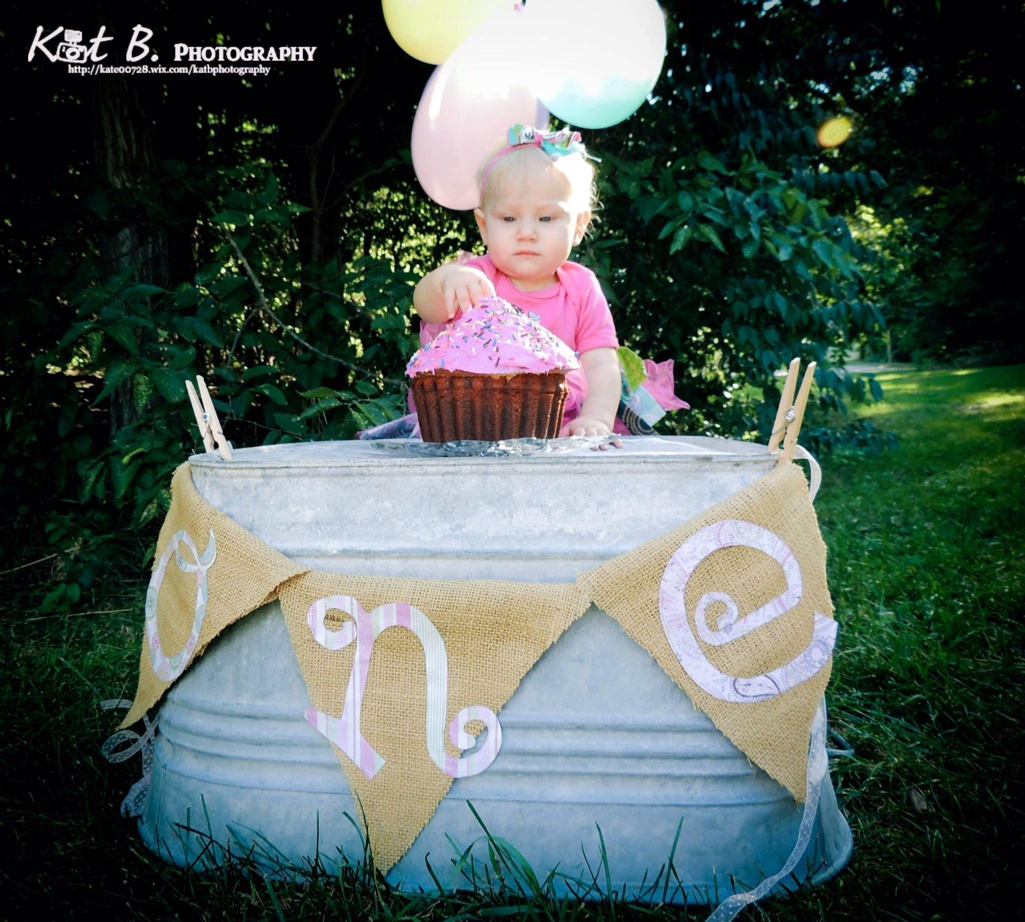 One year old birthdays. Kat B Photography
