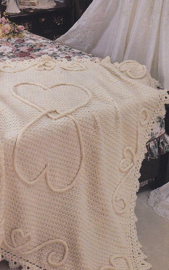 Wedding Afghan Crochet Pattern : wedding, afghan, crochet, pattern, Wedding, Crochet, Patterns, Keepsakes, Afghan, Patterns,