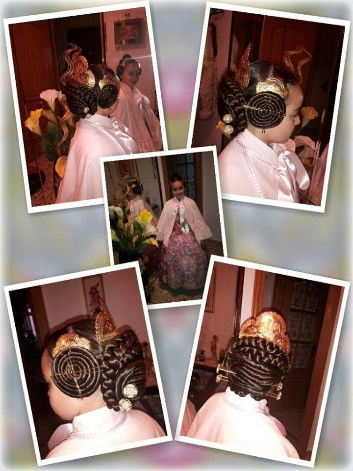 Imagen perfecta peinados de fallera Imagen de ideas de color de pelo - Peinado de Fallera | Peinados, Recogidos