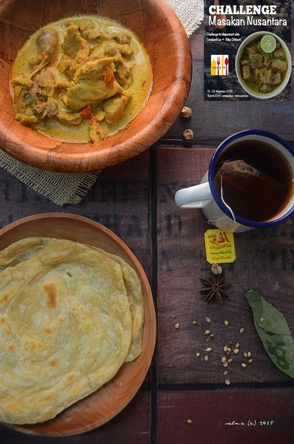 Dapur Comel Selma Roti Canai Kuah Kari