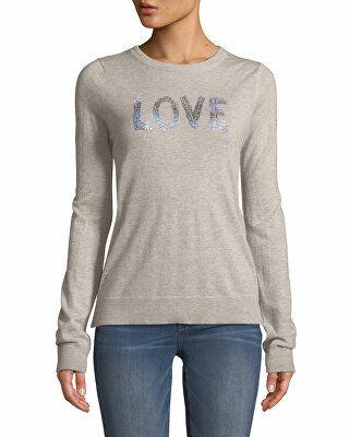 d738a15227 Zadig   Voltaire Designer Love Embellished Graphic Cashmere Sweater ...
