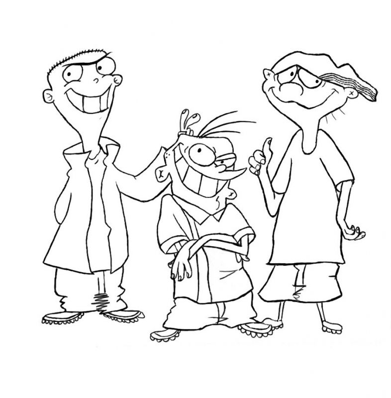 Ed Edd N Eddy Coloring Pages 327 Free Printable Coloring Pages ...
