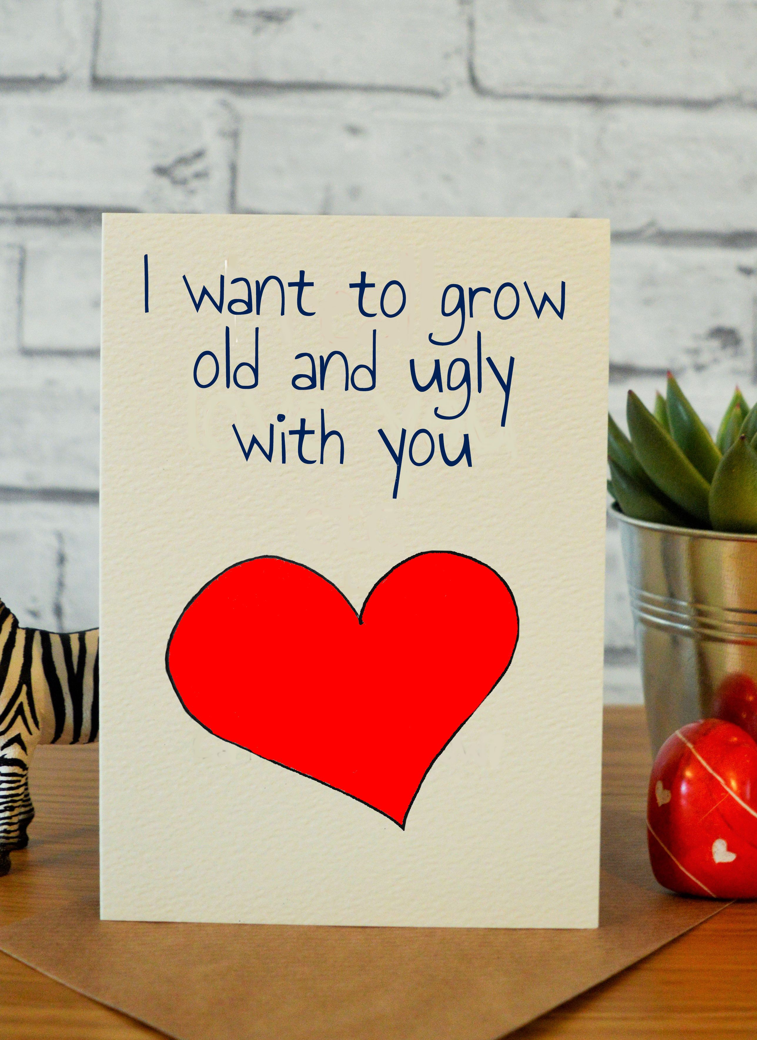 Attractive Ny Anniversary Ny Valentines Day Card Husband Wife Ny Valentine S Day Cards Ny Valentines Day Cards Husband Card Girlfriend Card Ugly Ny Card Card
