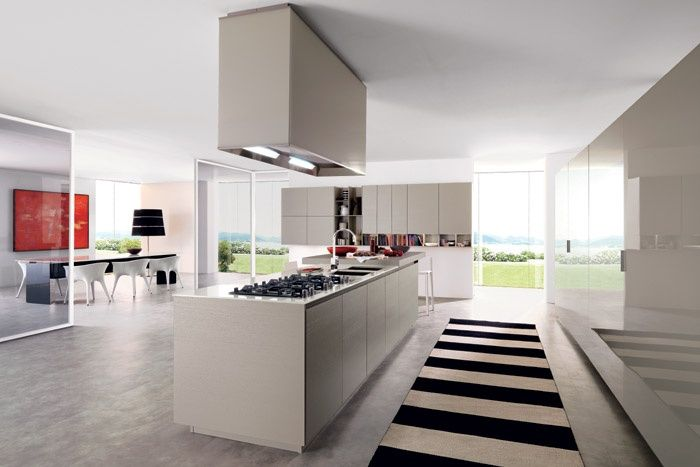 Euromobil Cucine - Cucina moderna FiloE25 Mobili cucine componibili ...