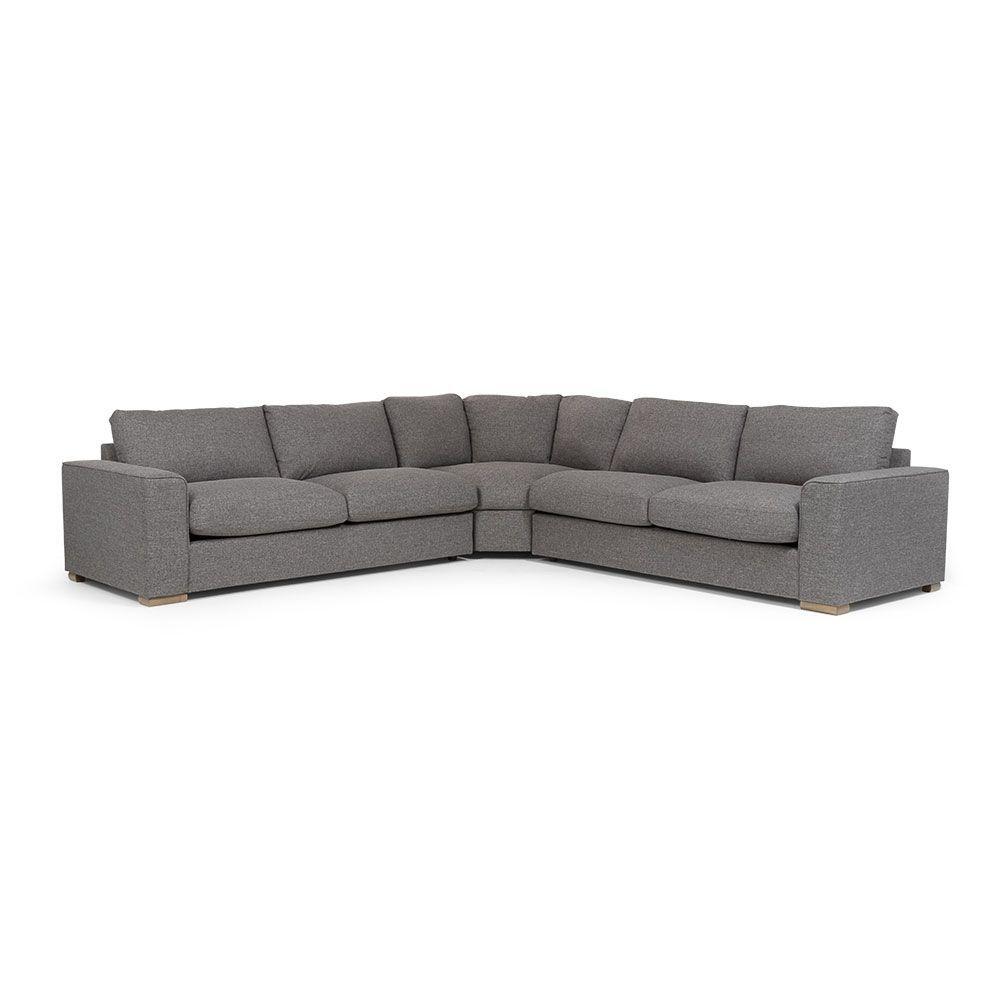 Incredible Aria Corner Suite Sofa Charcoal Design Corner Sofa Andrewgaddart Wooden Chair Designs For Living Room Andrewgaddartcom