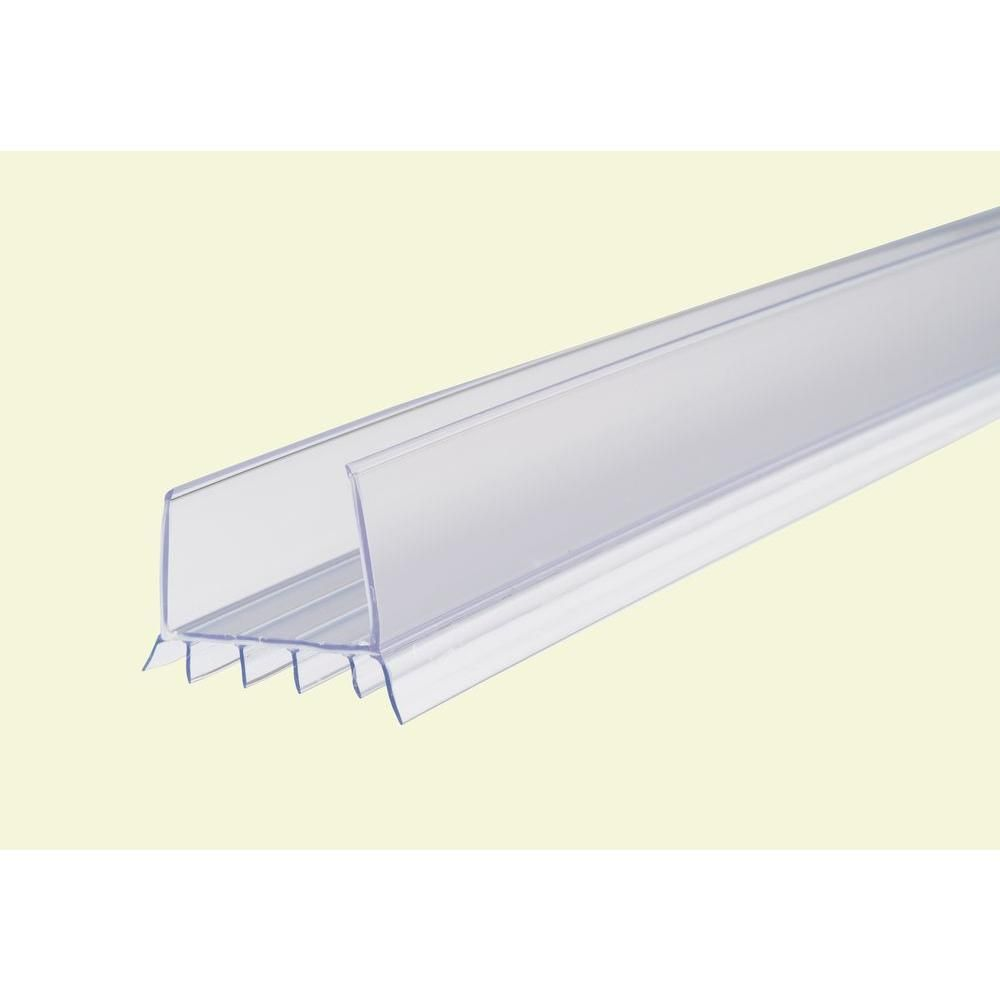 M D Building Products 2 375 In X 36 In Clear Cinch Slide On Door