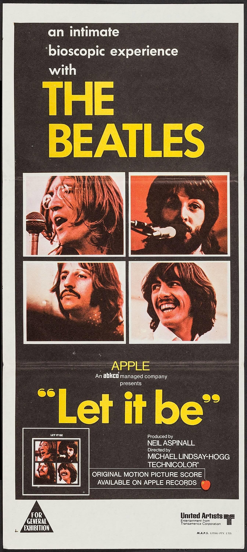 Let It Be (United Artists, 1970). Australian PostWar