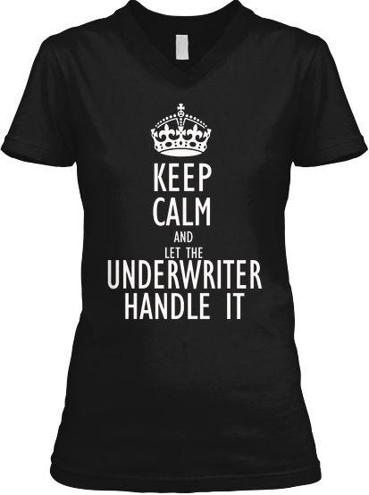 Limited Edition Underwriter Tees Teespring Underwriting