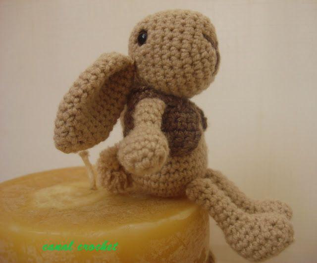 CANAL CROCHET: Conejito amigurumi patrón libre. | muñecas ...