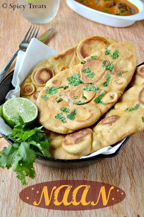 Naan / Naan Recipe Without Yeast / Naan Using Multi Grain ...