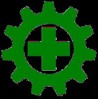Lambang Logo Simbol K3 Keselamatan Dan Kesehatan Kerja Simbol Bendera Desain Poster