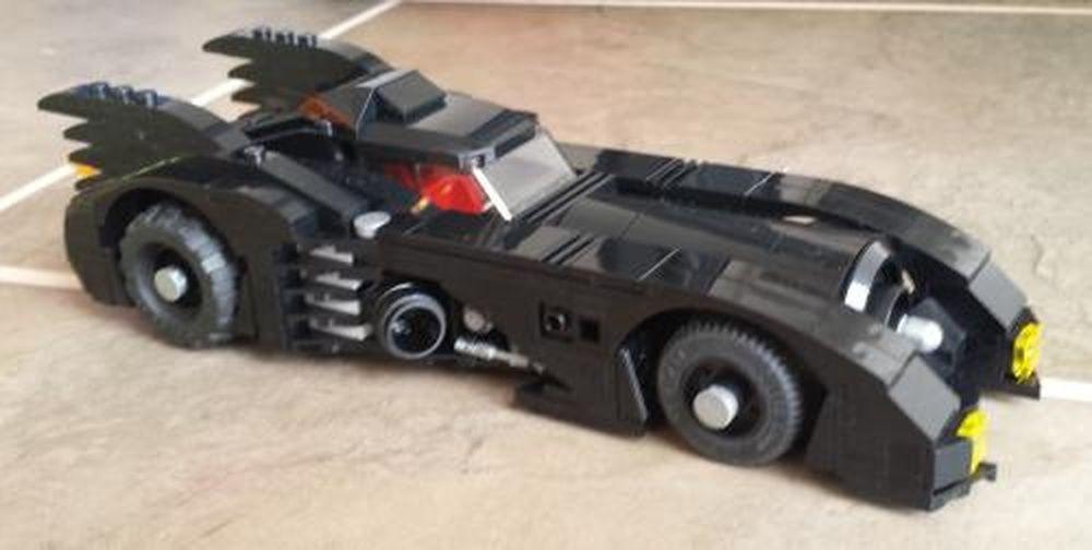 Lego Moc Moc 2495 Lego Batman 3 The Batmobile 1989 Building