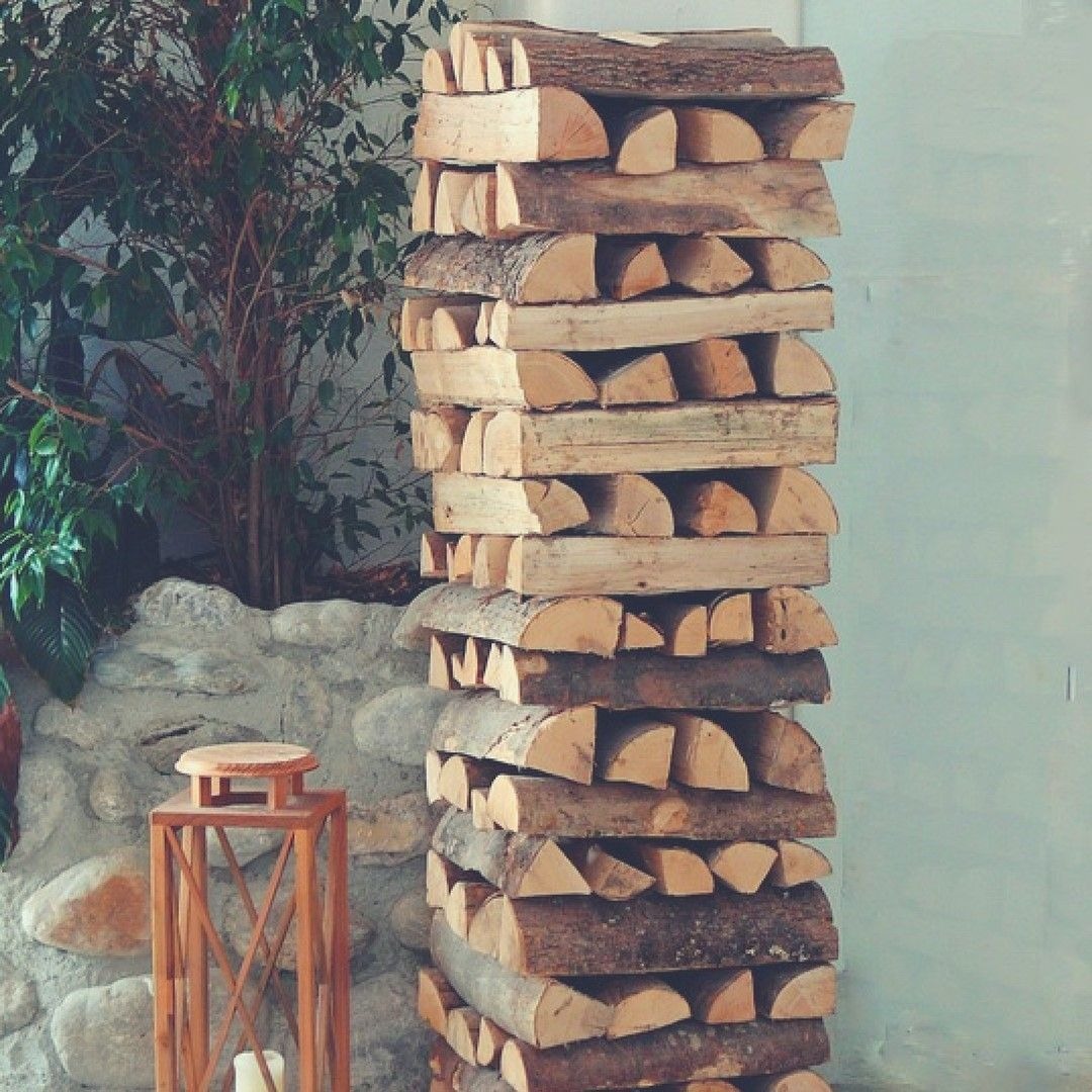 Flashbackfriday firewood needed to be dried for at least