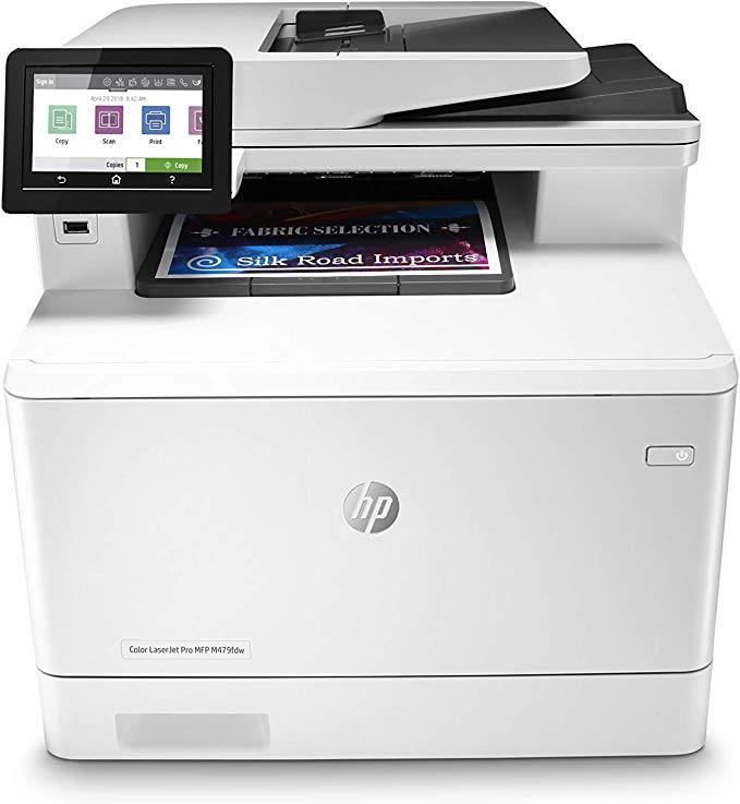 Amazon Com Hp Color Laserjet Pro Multifunction M479fdw Wireless Laser Printer With One Year Next Business Day Onsit Laser Printer Printer Cool Things To Buy