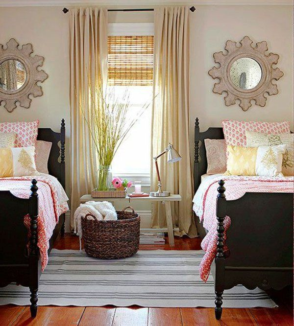 tolles kinderzimmer f r zwei m dchen schlafzimmer. Black Bedroom Furniture Sets. Home Design Ideas
