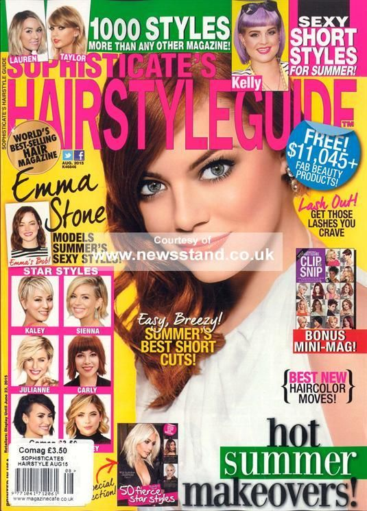 Sophisticates Hairstyle Guide Magazine Denmark British