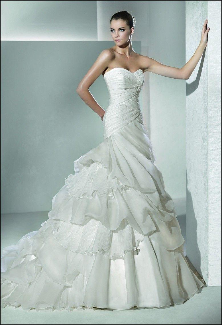 Perfect Wedding Gowns 2012 Festooning - Wedding Dress - googeb.com