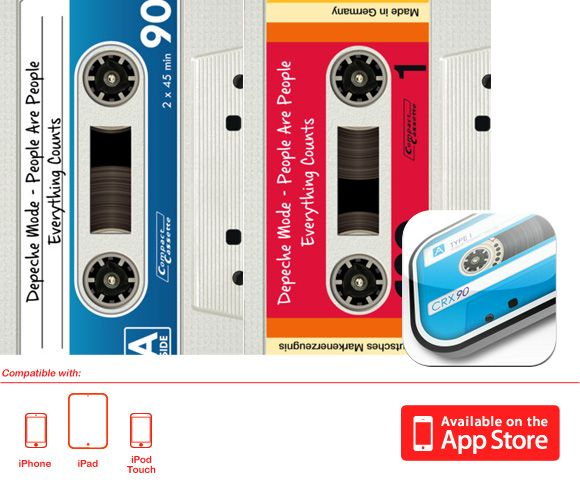DeliTape iPhone/iPod touch + Android Ipod touch, Ipod
