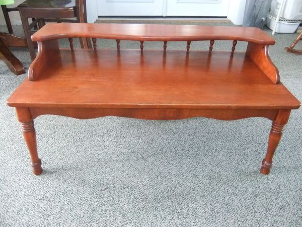 Buying This 1960 S Ethan Allen Coffee Table Off Craigslist For 40 I Love Classic Vintage Pieces Coffee Table Table Outdoor Decor