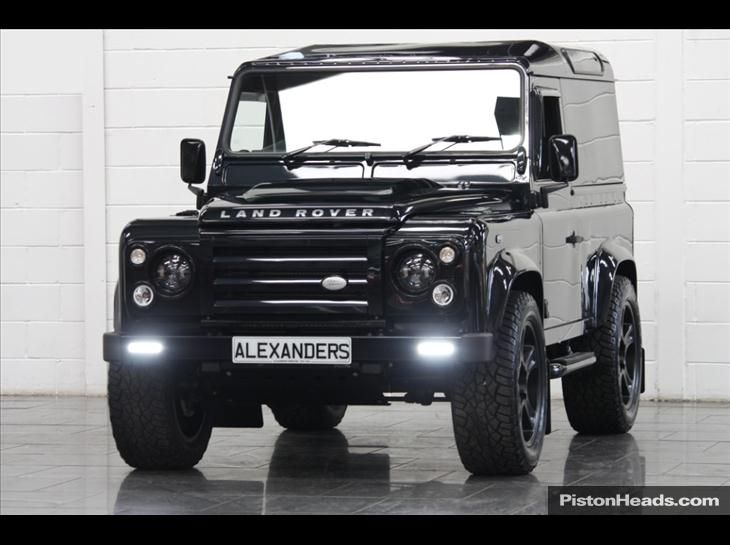 Landrover Defender 90 2 4 Tdi Alive Black Edition Alexanders