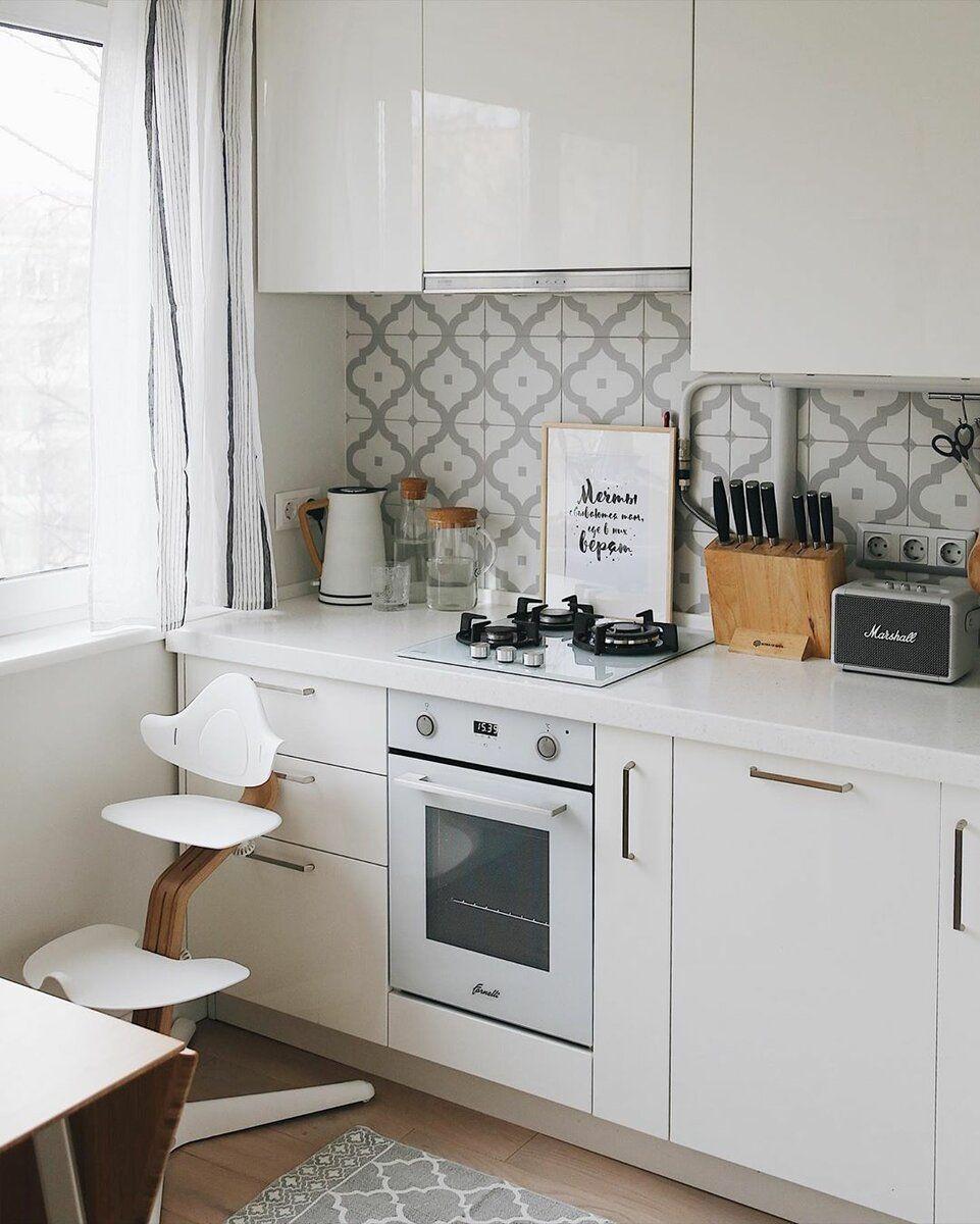 Photo of Маленькая кухня но очень уютная и душевная