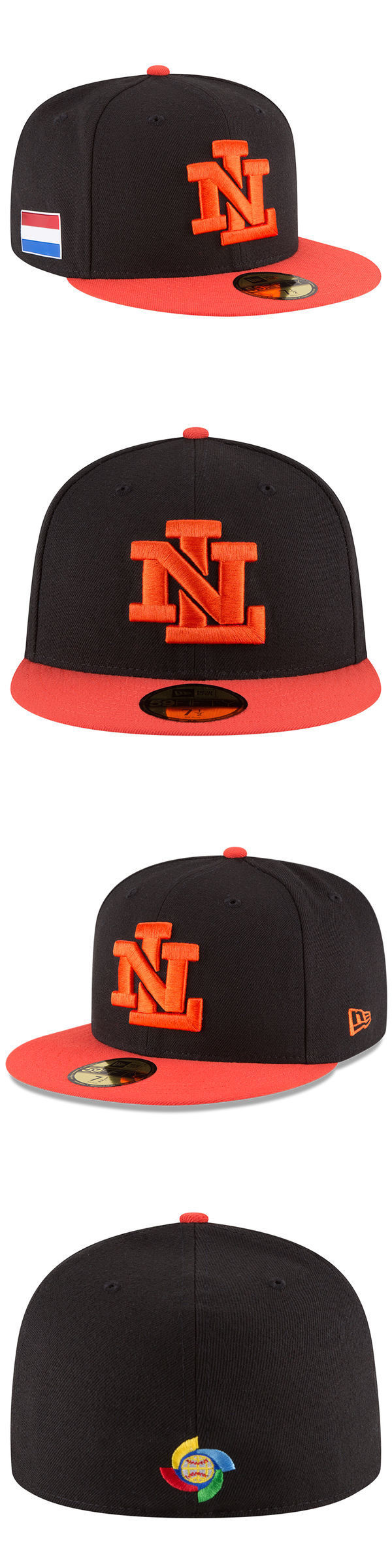 865508ca ... best price baseball other 204 new era netherlands wbc 2017 world  baseball classic black 59fifty fitted