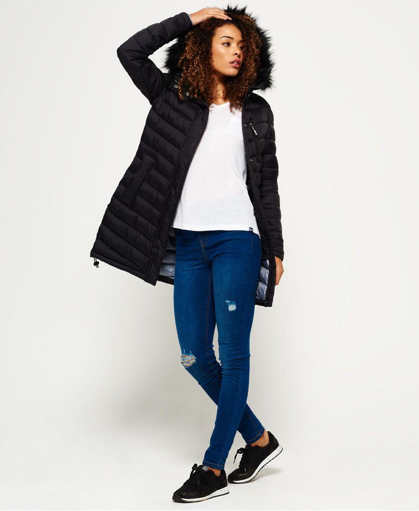 Superdry Cocoon Parka Jacket Green   Coats   Pinterest   Jackets, Parka and  Green jacket 26756a8ecc
