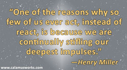 Writing Quote by Henry Miller #motivation #amwriting