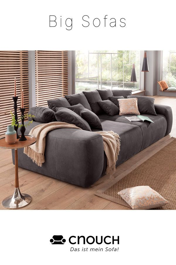 Wenn das Sofa zur Liegewiese wird.. in 2020   Wohnzimmersitzecke, Tiefe couch, Sofa design