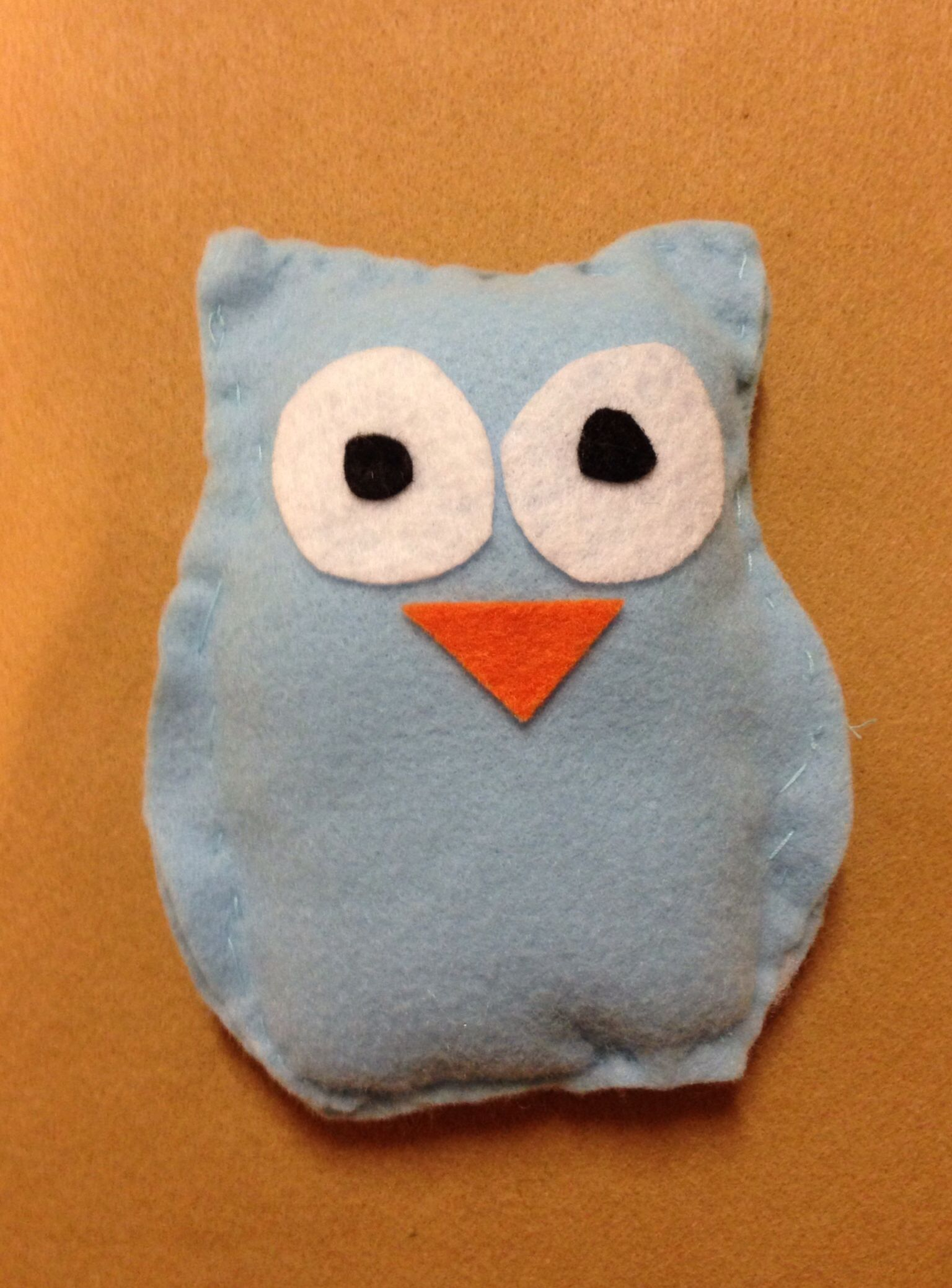 Kids sew projects Owl sew project
