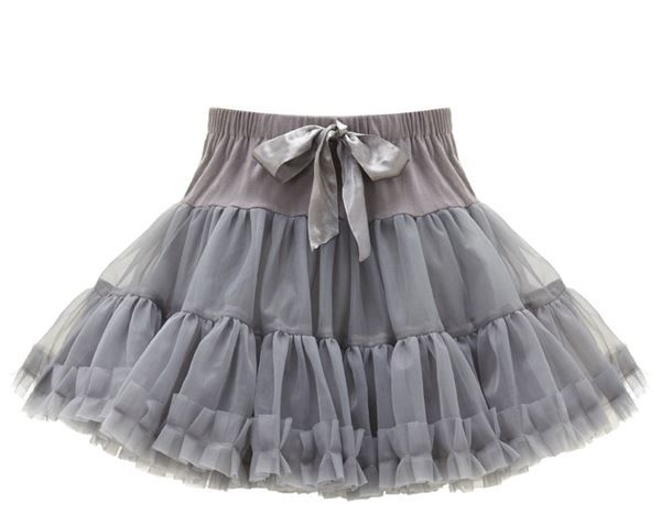 16cd60929 Gorgeous and girly, our fabulous rara skirts are perfect for parties and  everyday wear! Created from layer upon layer of soft, grey chiffon frills,  ...