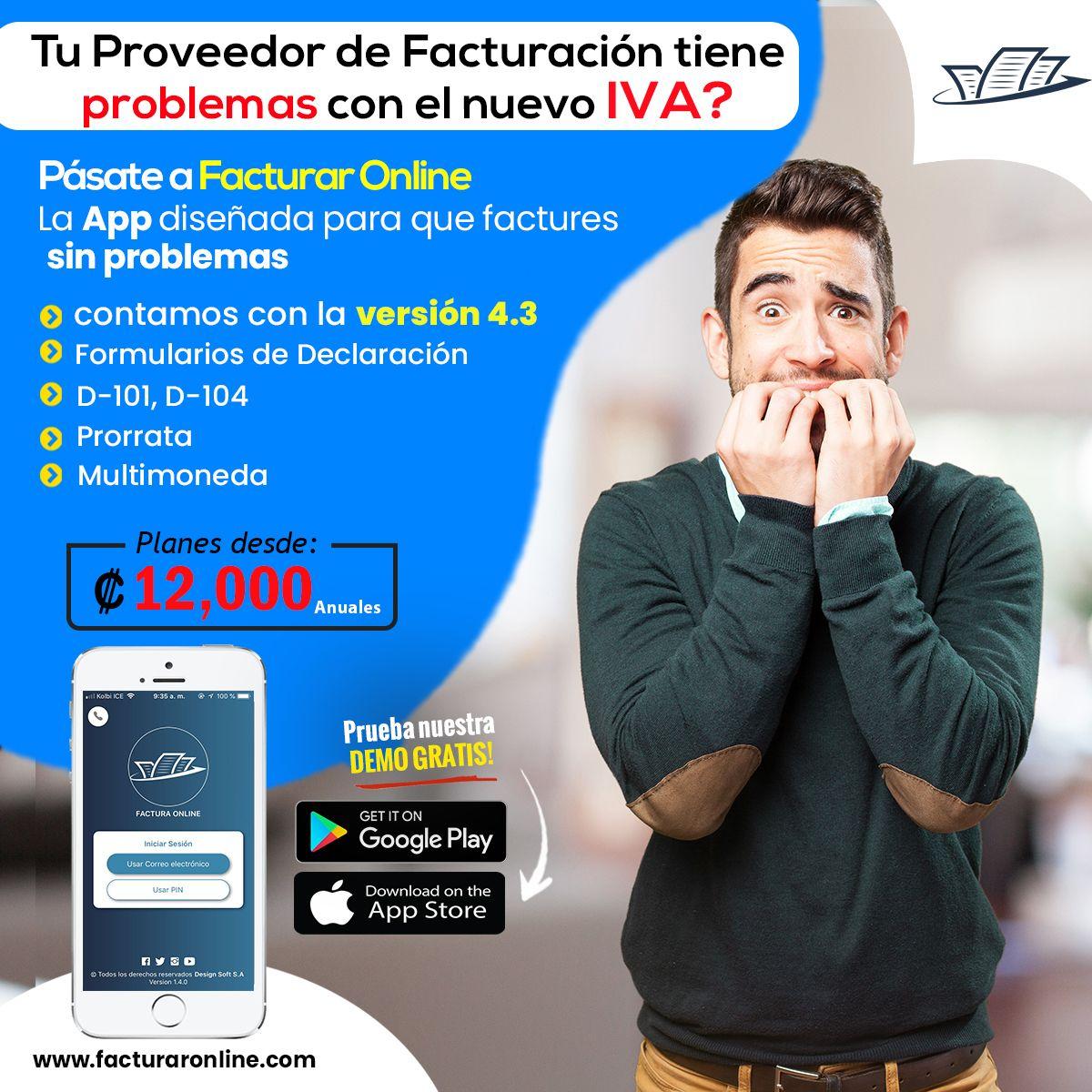 App Facturación Electrónica Servicios Profesionales Facturas Factura Electronica Electrónica