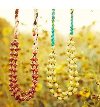 necklaces diy-ideas
