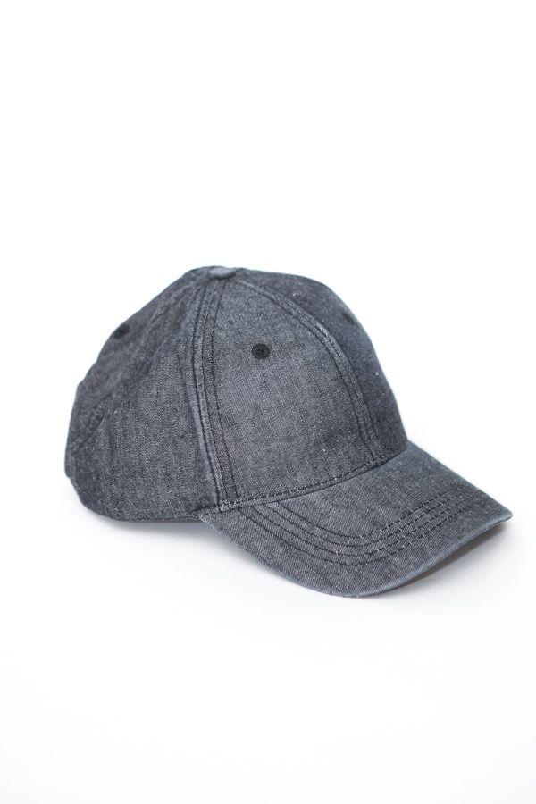 Denim Baseball Cap | Parc Boutique