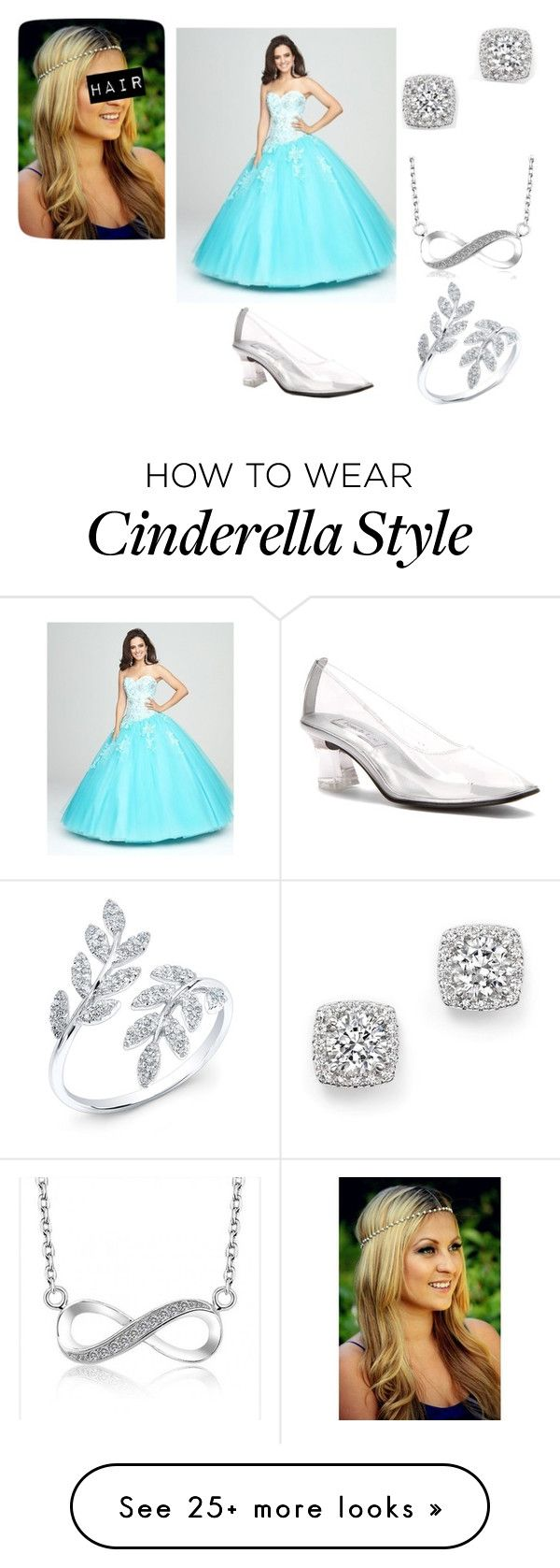 """You should feel like a princess everyday."" by amybeliebs on Polyvore featuring Touch Ups, Bloomingdale's, women's clothing, women's fashion, women, female, woman, misses and juniors"