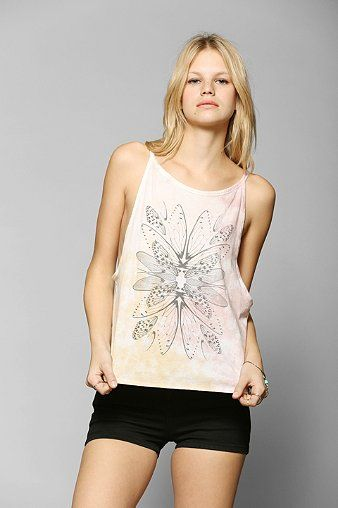 Truly Madly Deeply Faded Wings Tank Top