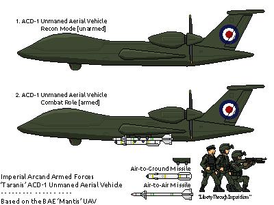 [JG] Arcand - Attack/Recon UAV by EddieKenz on DeviantArt