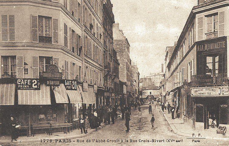 Les Anciennes Rues De Paris Rue De L Abb Groult 15 Me Arrondissement Rue De Paris Vieux Paris Paris