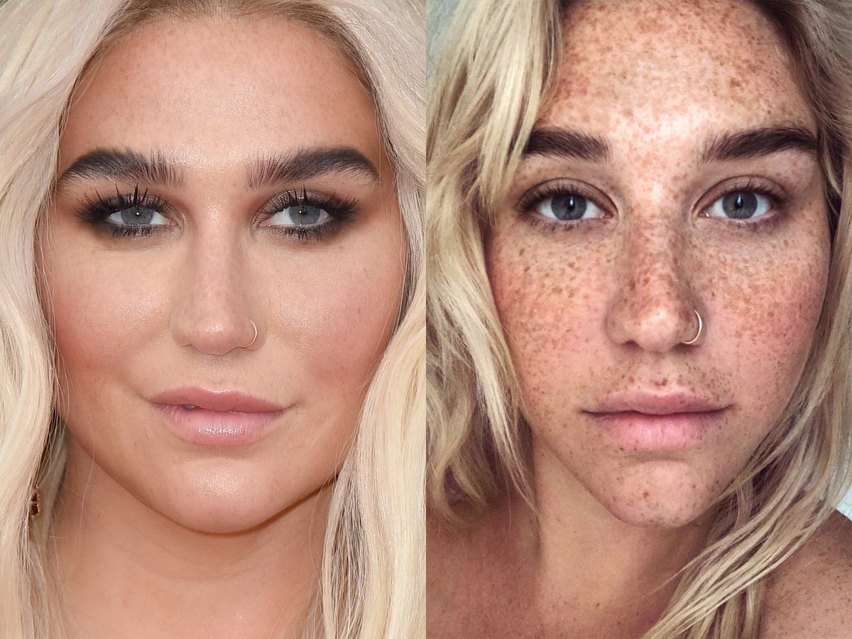 What 70 Celebrities Look Like Without A Lick Of Makeup In 2020 Celebrity Makeup Looks Celebs Without Makeup Makeup Looks