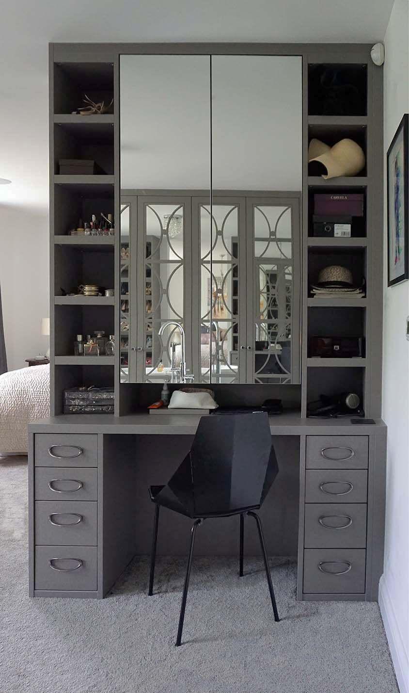 Bespoke builtin drawers neatsmith with